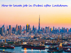 How to locate job in Dubai after Lockdown
